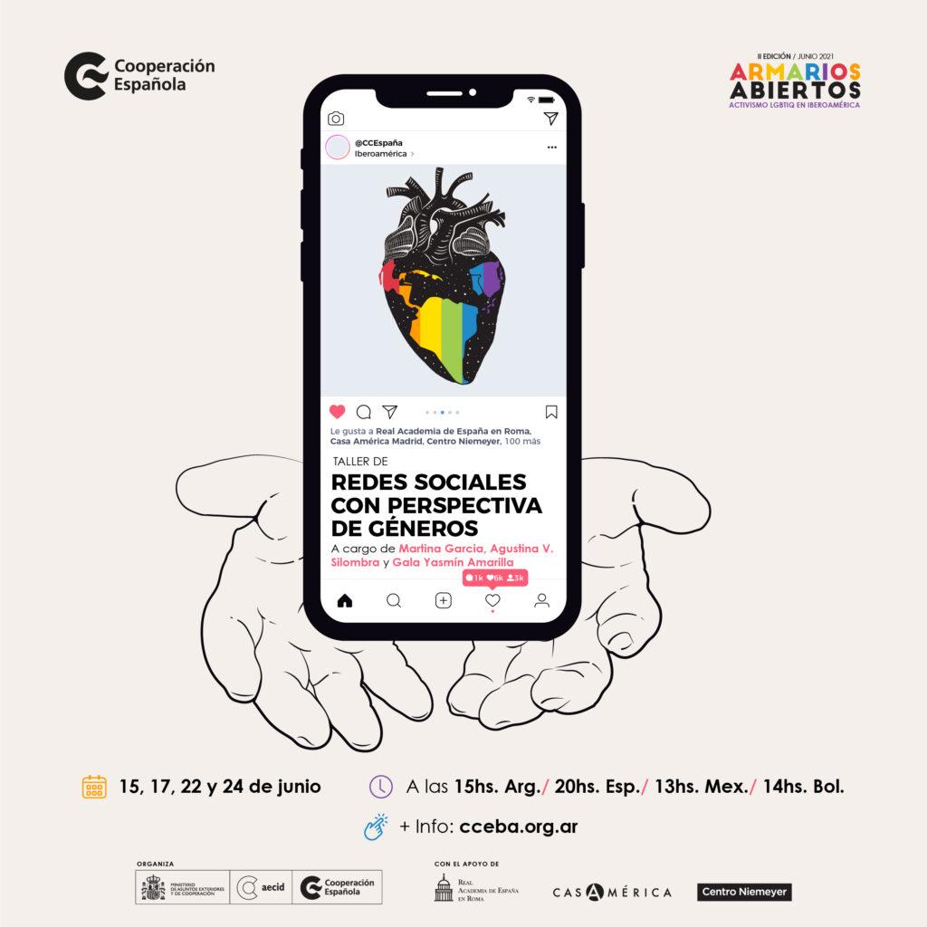 ARMARIOS ABIERTOS Encuentros y actividades de activismo LGBTIQ+ en Iberoamérica y Guinea Ecuatorial